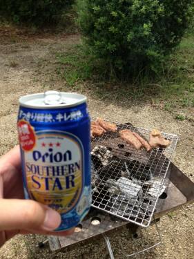 紀州加太オートキャンプ場_ビール
