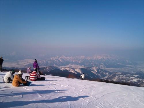 2011スキージャム_頂上