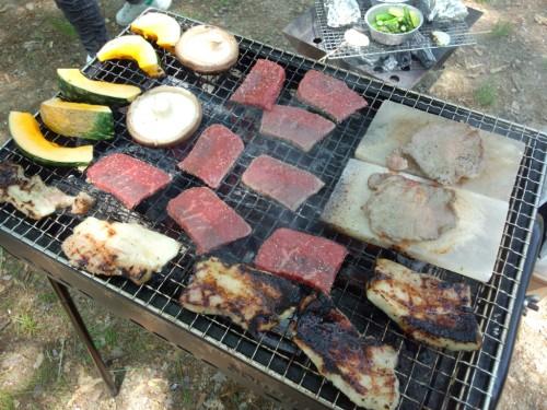 2013大泉緑地_圧縮陳列BBQ