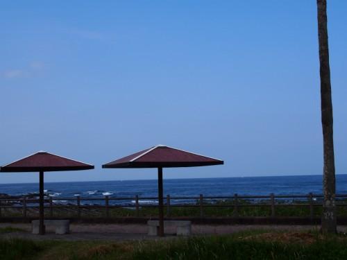 2014宮崎白浜オートキャンプ場_海